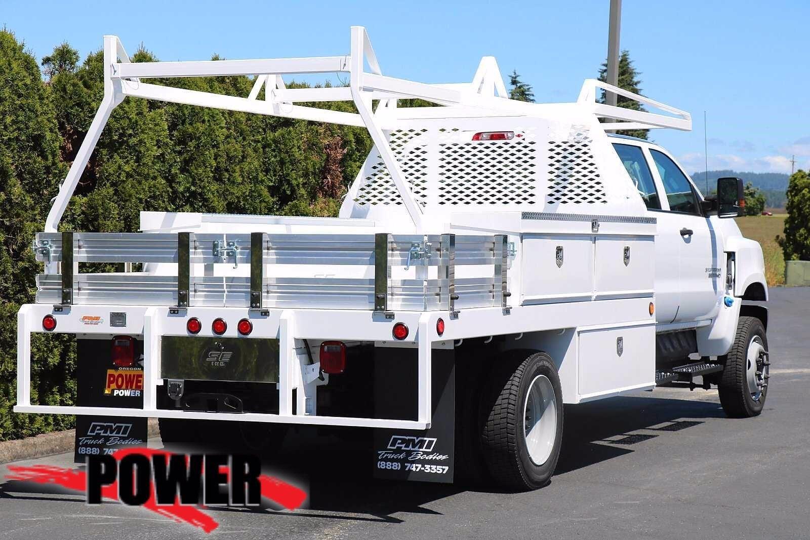 2021 Chevrolet Silverado 5500 Crew Cab DRW 4x4, Scelzi SEC Contractor Body #24382 - photo 2