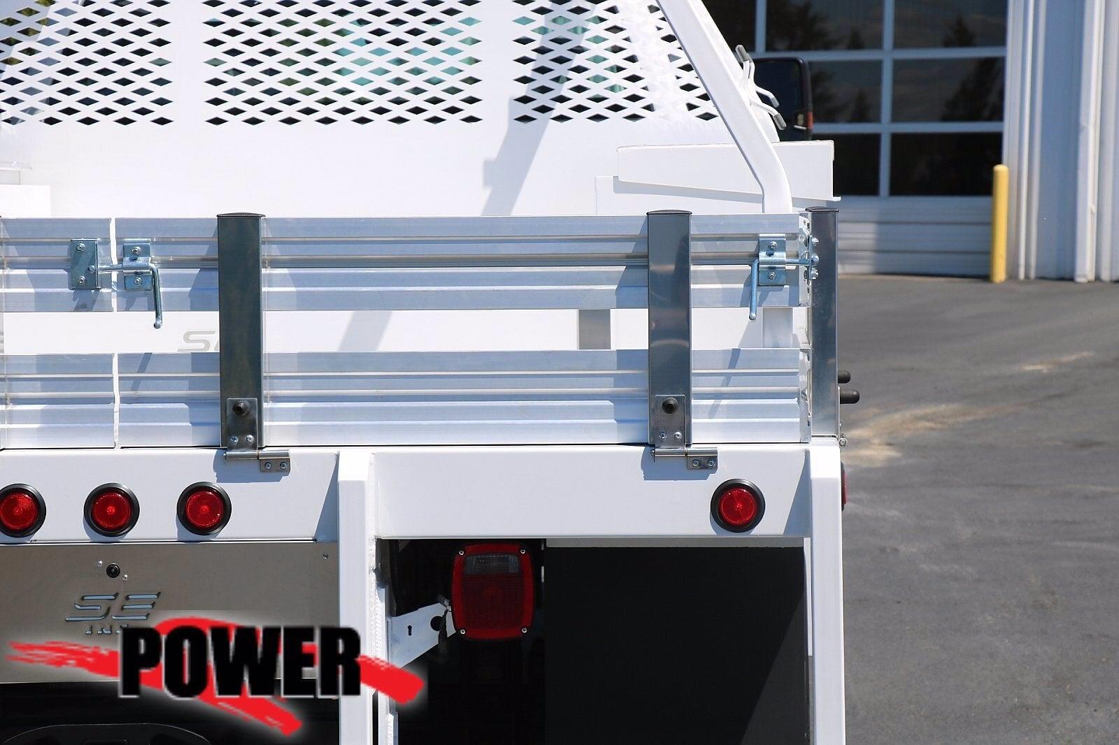 2021 Chevrolet Silverado 5500 Crew Cab DRW 4x4, Scelzi SEC Contractor Body #24382 - photo 6