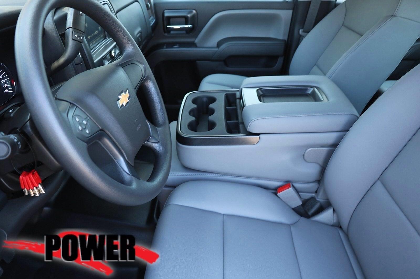 2021 Chevrolet Silverado 5500 Crew Cab DRW 4x4, Scelzi SEC Contractor Body #24382 - photo 8