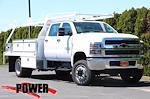 2021 Chevrolet Silverado 5500 Crew Cab DRW 4x4, Scelzi SEC Contractor Body #24382 - photo 1