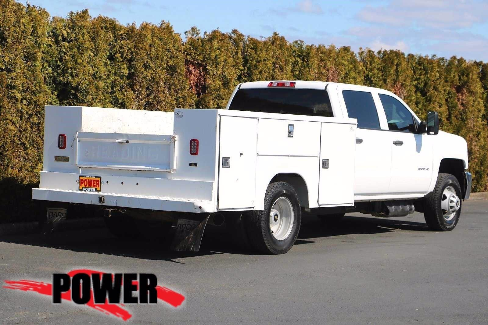 2019 Chevrolet Silverado 3500 Crew Cab DRW 4x4, Service Body #P28705 - photo 1