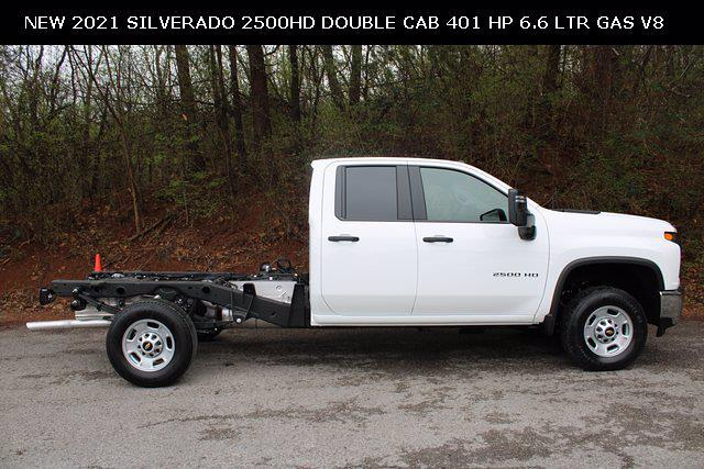 2021 Chevrolet Silverado 2500 Double Cab 4x2, Cab Chassis #71131 - photo 3
