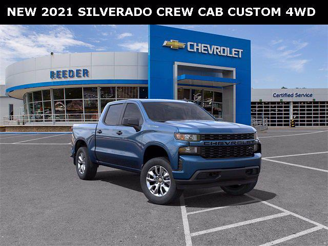 2021 Chevrolet Silverado 1500 Crew Cab 4x4, Pickup #71391 - photo 25