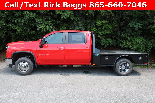 2021 Chevrolet Silverado 3500 Crew Cab 4x4, CM Truck Beds Platform Body #72581 - photo 7