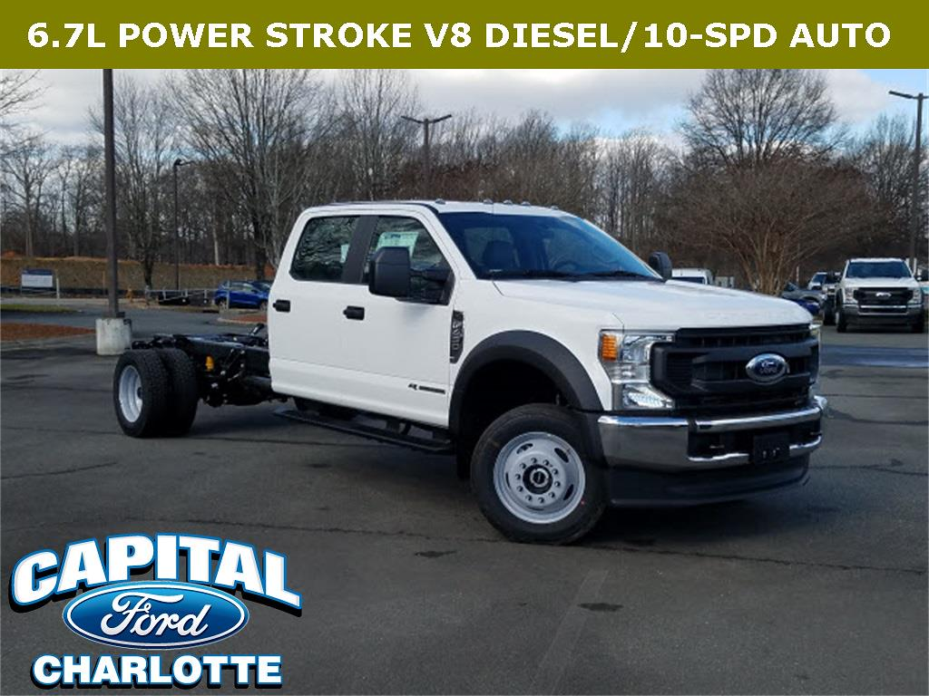 2021 Ford F-450 Crew Cab DRW 4x4, Cab Chassis #21F42238 - photo 1