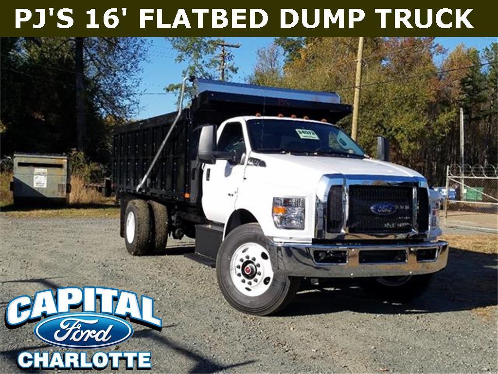 2021 Ford F-750 Regular Cab DRW 4x2, Landscape Dump #21F75465 - photo 1
