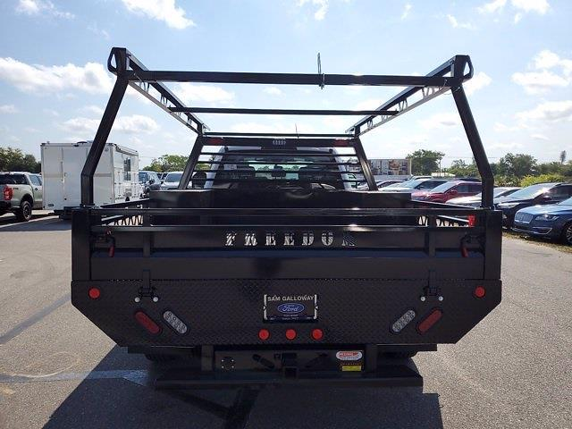 2021 Ford F-350 Crew Cab DRW 4x4, Freedom Contractor Body #MED09843 - photo 1