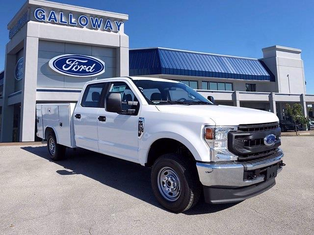2021 Ford F-350 Crew Cab 4x4, Reading Service Body #MED15171 - photo 1