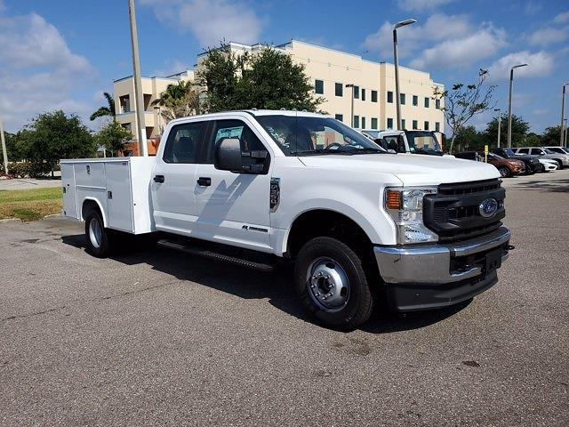 2021 Ford F-350 Crew Cab DRW 4x4, Reading Service Body #MED60607 - photo 1