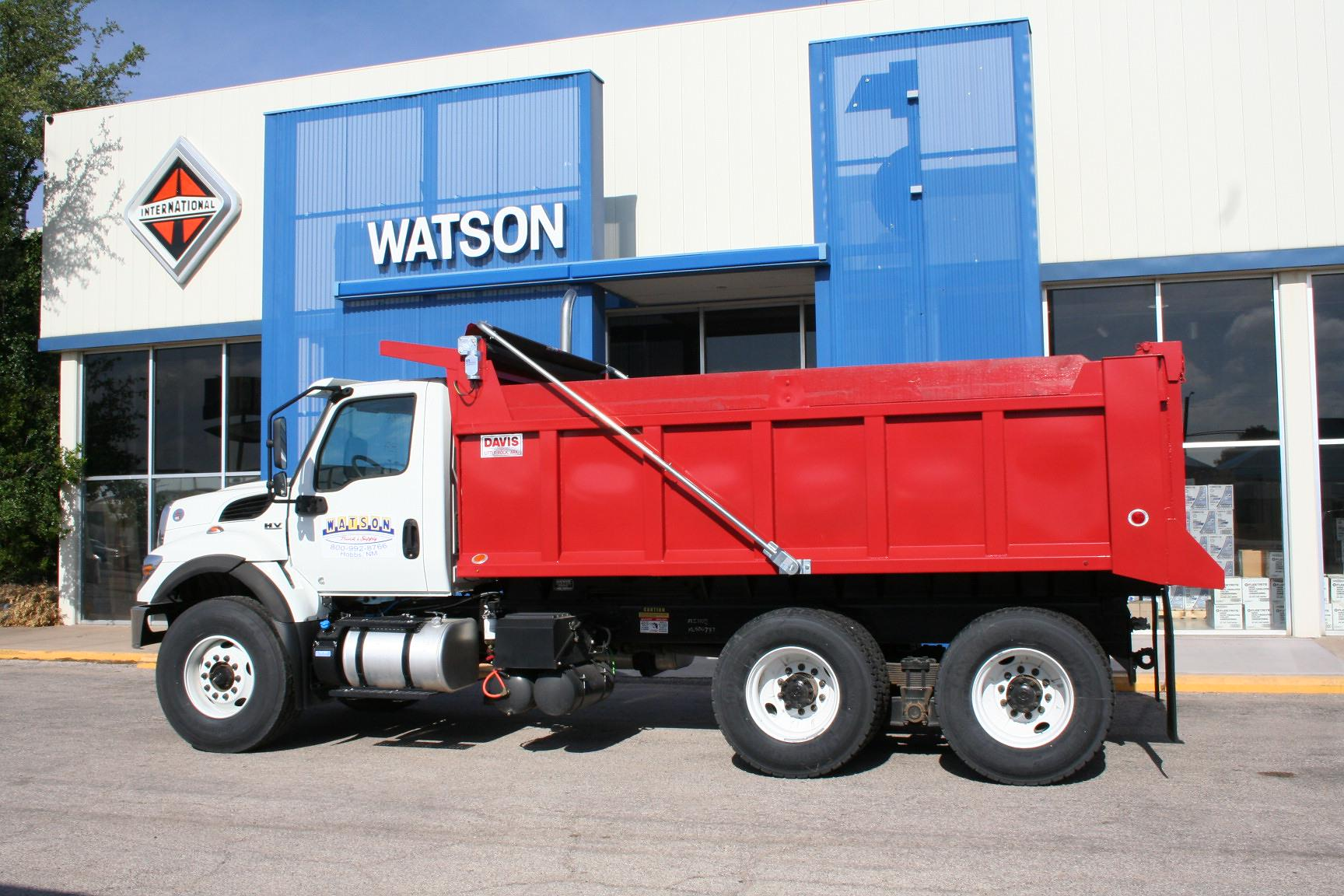 2021 International HV 6x4, Davis Trailer & Truck Equipment Co. Dump Body #21I002 - photo 1