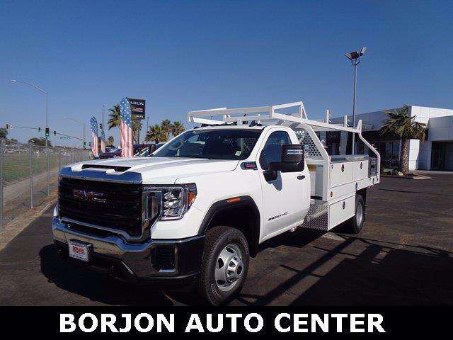 2021 GMC Sierra 3500 Regular Cab 4x2, Royal Truck Body Contractor Body #21G184 - photo 1