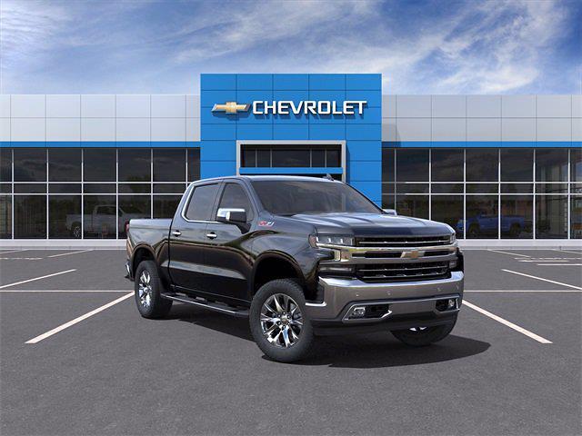 2021 Chevrolet Silverado 1500 Crew Cab 4x4, Pickup #409161 - photo 1