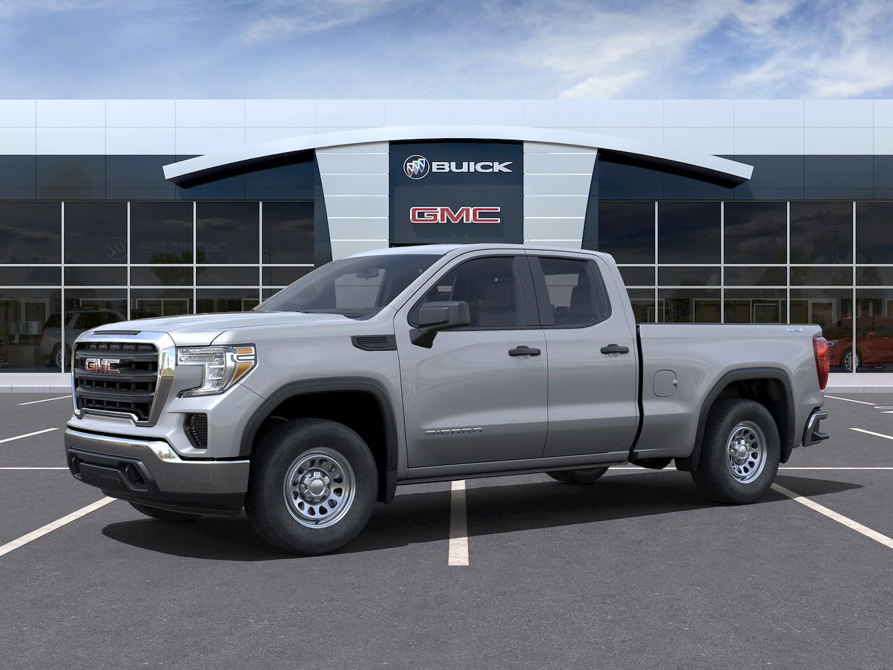 2021 GMC Sierra 1500 Double Cab 4x4, Pickup #416049 - photo 3