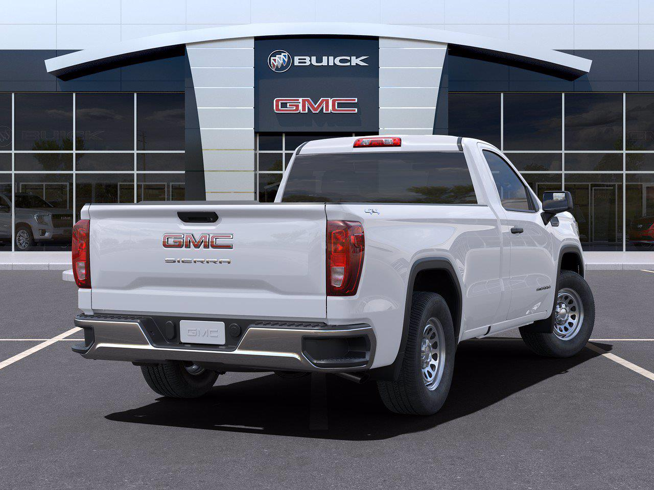 2021 GMC Sierra 1500 Regular Cab 4x4, Pickup #416065 - photo 2