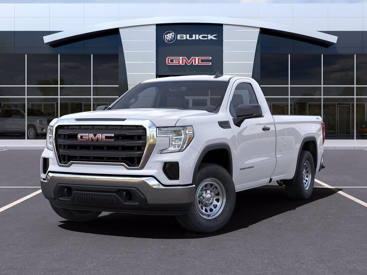 2021 GMC Sierra 1500 Regular Cab 4x4, Pickup #416065 - photo 6