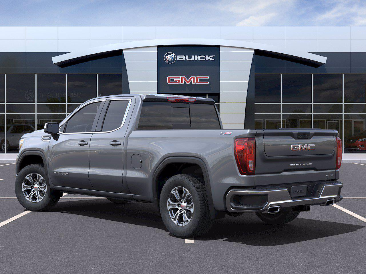 2021 GMC Sierra 1500 Double Cab 4x4, Pickup #416078 - photo 4