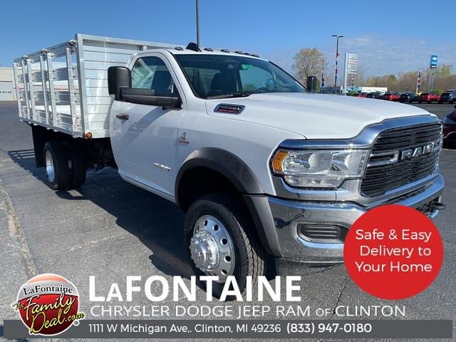 2020 Ram 5500 Regular Cab DRW 4x4, ABCO Services Stake Bed #20N796 - photo 1