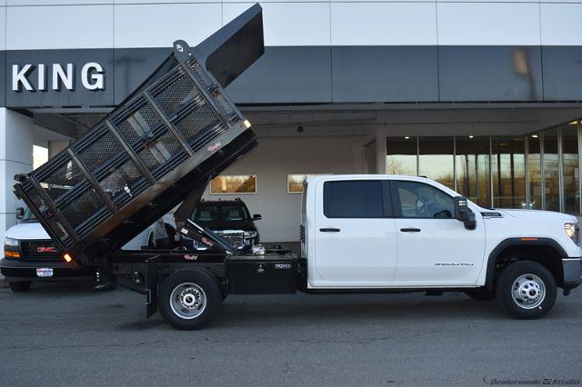 2020 GMC Sierra 3500 Crew Cab 4x4, Stake Bed #T201631 - photo 19