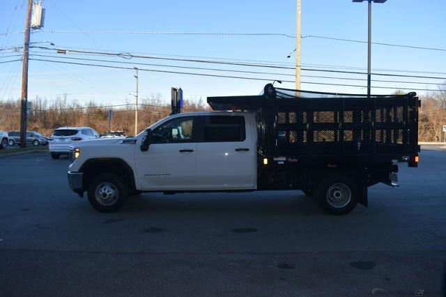 2020 Sierra 3500 Crew Cab 4x4,  Stake Bed #T201631 - photo 7