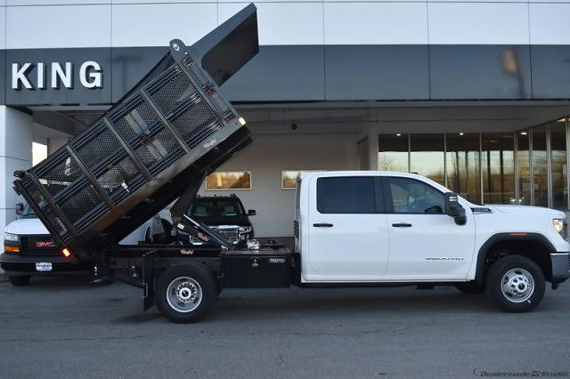 2020 Sierra 3500 Crew Cab 4x4,  Stake Bed #T201631 - photo 19