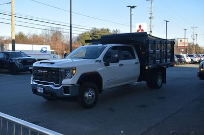 2020 Sierra 3500 Crew Cab 4x4,  Stake Bed #T201631 - photo 8
