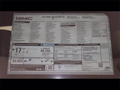 2021 GMC Sierra 1500 Crew Cab 4x4, Pickup #M2795 - photo 7