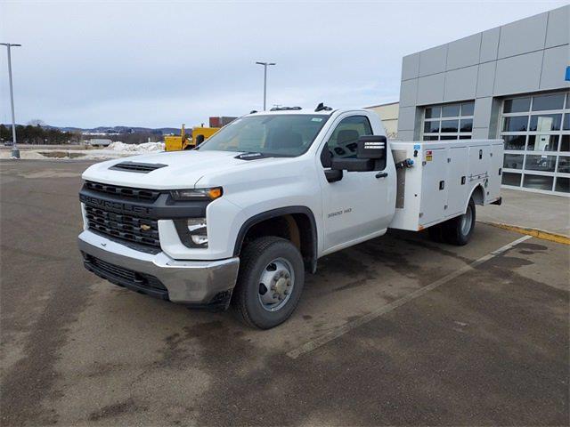 2021 Silverado 3500 Regular Cab 4x4,  Monroe Truck Equipment Service Body #74765 - photo 4