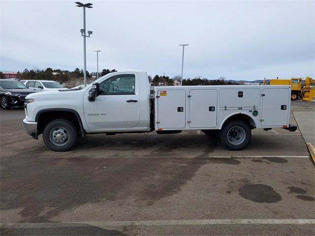 2021 Silverado 3500 Regular Cab 4x4,  Monroe Truck Equipment Service Body #74765 - photo 5