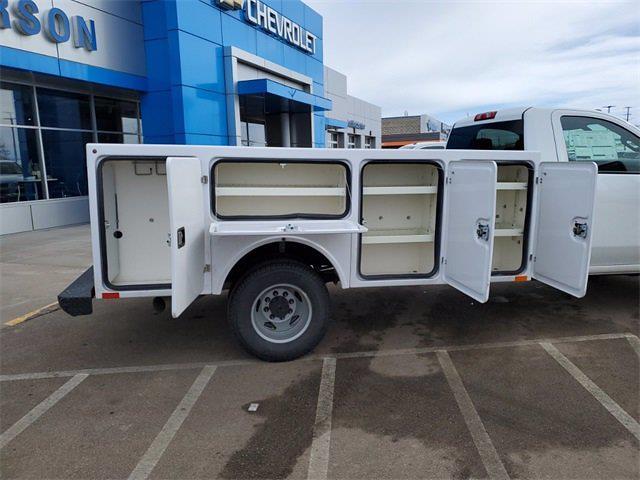 2021 Silverado 3500 Regular Cab 4x4,  Monroe Truck Equipment Service Body #74765 - photo 9