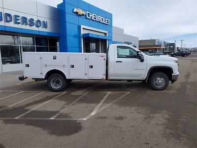 2021 Silverado 3500 Regular Cab 4x4,  Monroe Truck Equipment Service Body #74765 - photo 8