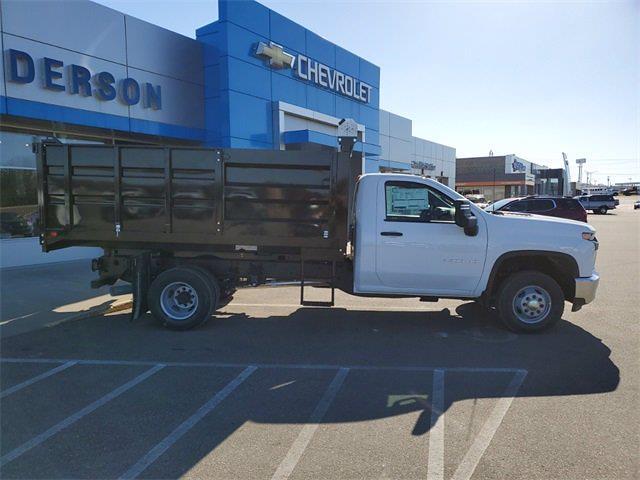 2021 Chevrolet Silverado 3500 Regular Cab 4x4, Knapheide Landscape Dump #74831 - photo 8