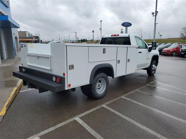 2021 Chevrolet Silverado 3500 Regular Cab 4x4, Monroe MSS II Service Body #74841 - photo 2