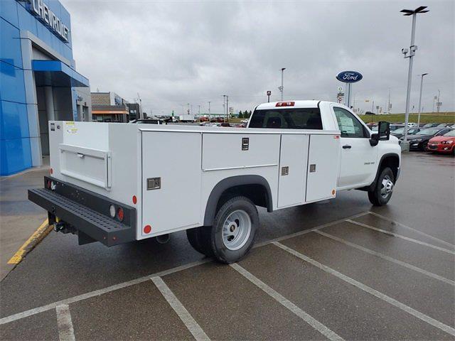 2021 Chevrolet Silverado 3500 Regular Cab 4x4, Monroe MSS II Service Body #74878 - photo 2