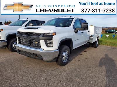 2021 Silverado 2500 Double Cab 4x4,  Service Body #75179 - photo 1