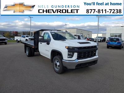 2022 Silverado 3500 Regular Cab 4x2,  Monroe Truck Equipment Platform Body #75197 - photo 1