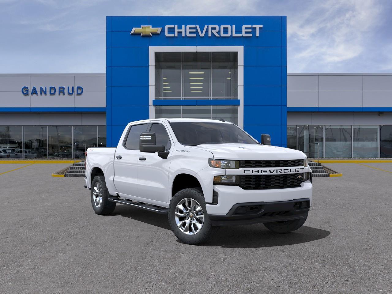 2021 Chevrolet Silverado 1500 Crew Cab 4x4, Pickup #M1314 - photo 1