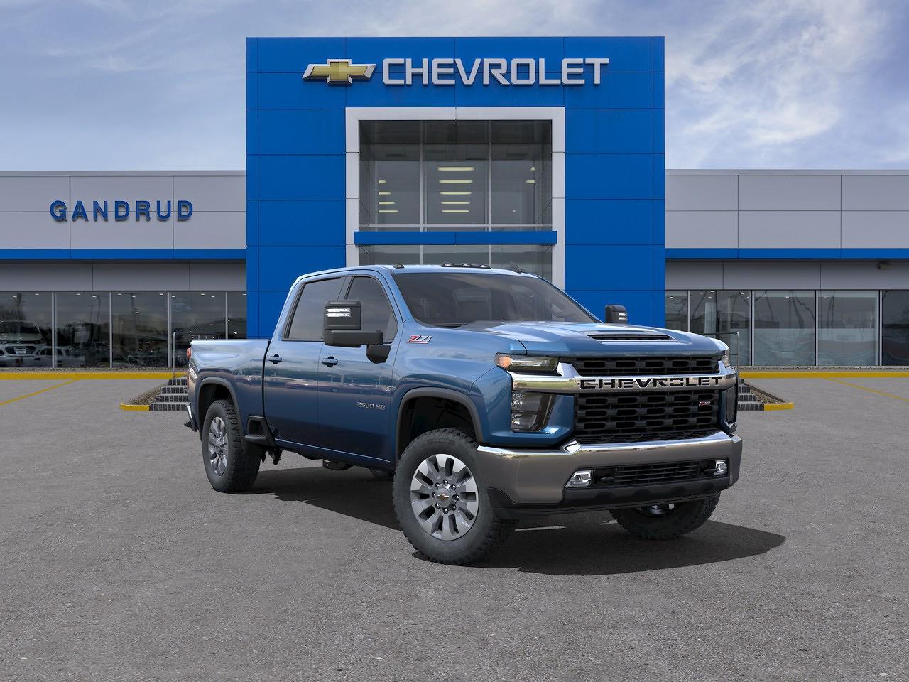 2021 Chevrolet Silverado 2500 Crew Cab 4x4, Pickup #M1319 - photo 1