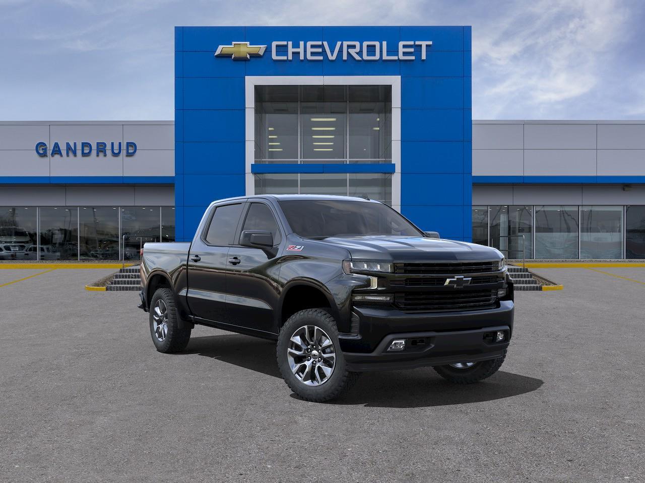 2021 Chevrolet Silverado 1500 Crew Cab 4x4, Pickup #M1340 - photo 1