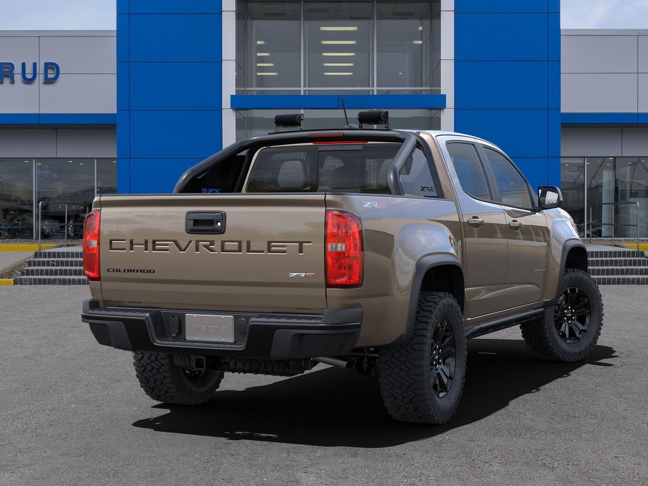 2021 Chevrolet Colorado Crew Cab 4x4, Pickup #M1341 - photo 2