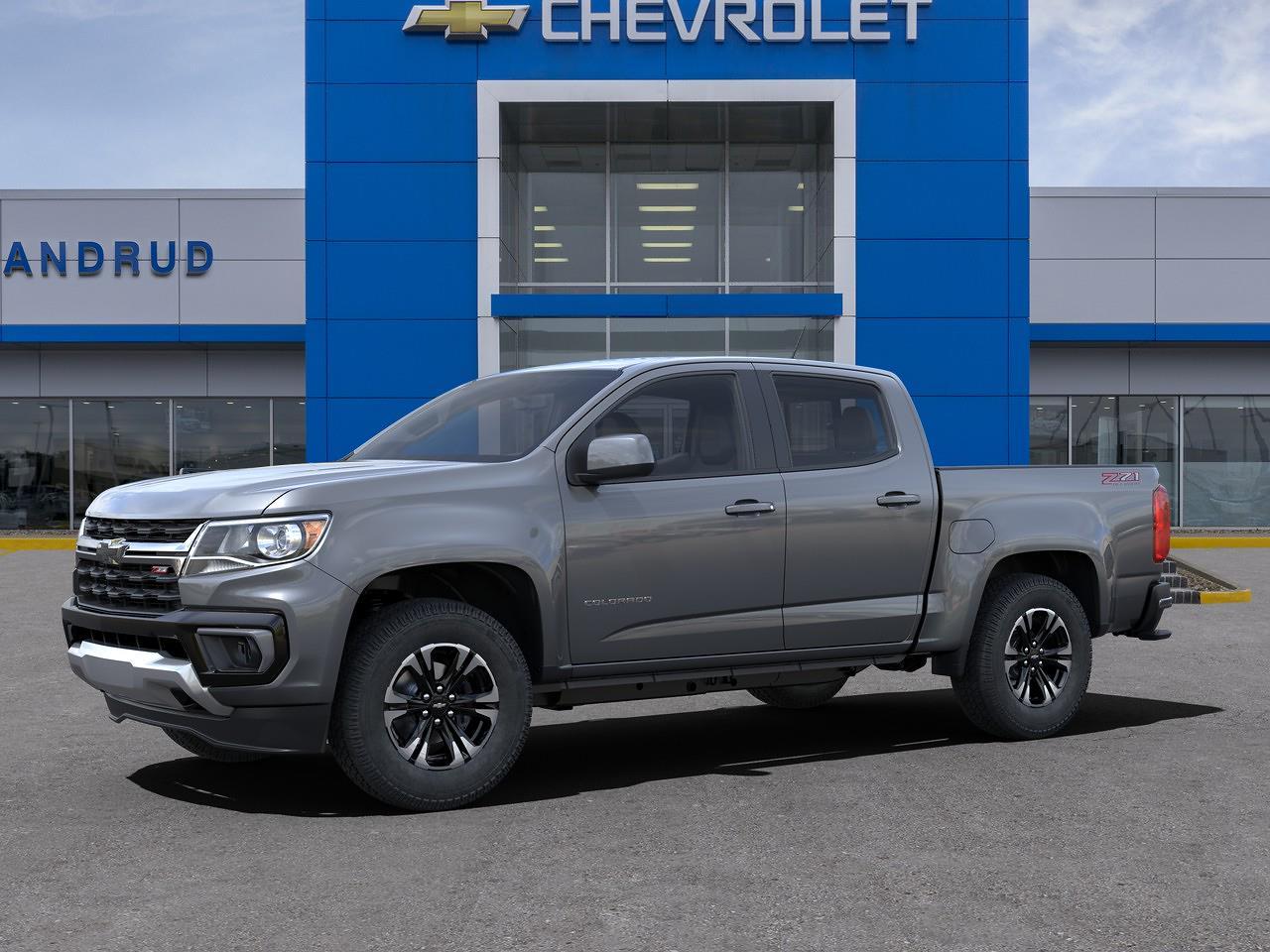 2021 Chevrolet Colorado Crew Cab 4x4, Pickup #M1367 - photo 3