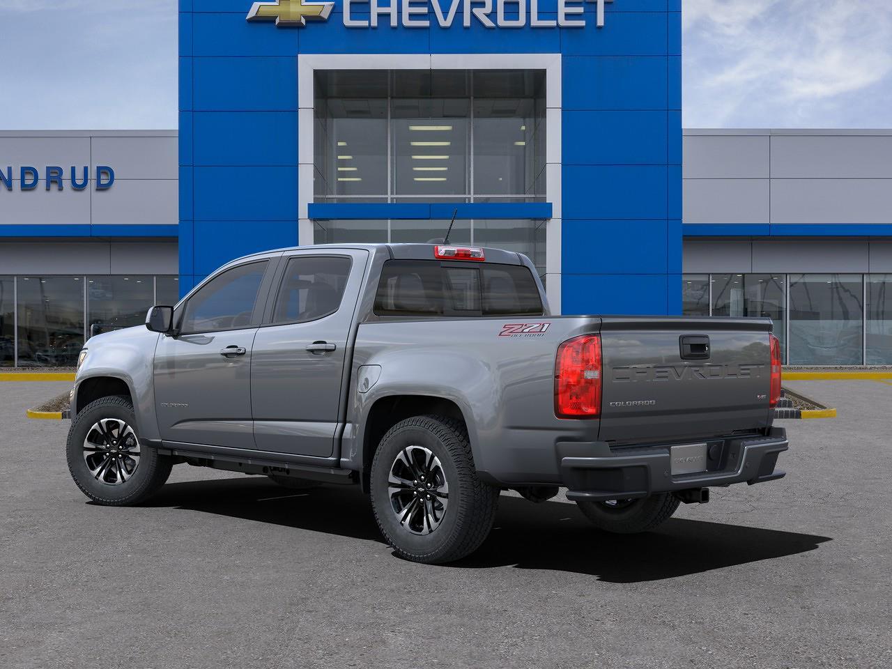 2021 Chevrolet Colorado Crew Cab 4x4, Pickup #M1367 - photo 4