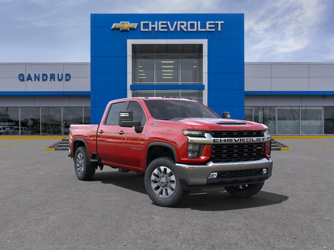 2021 Chevrolet Silverado 2500 Crew Cab 4x4, Pickup #M1387 - photo 1