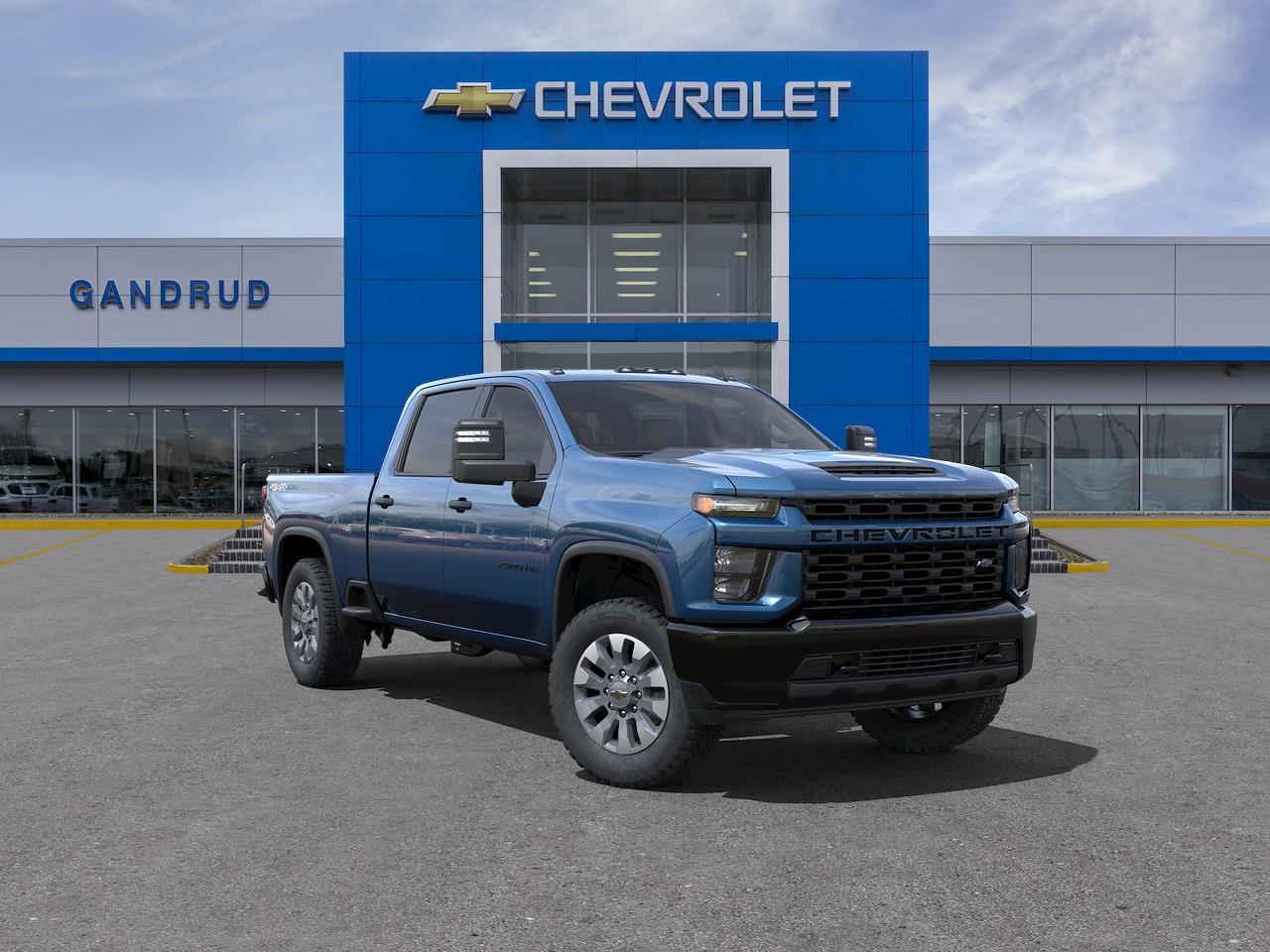 2021 Chevrolet Silverado 2500 Crew Cab 4x4, Pickup #M1388 - photo 1