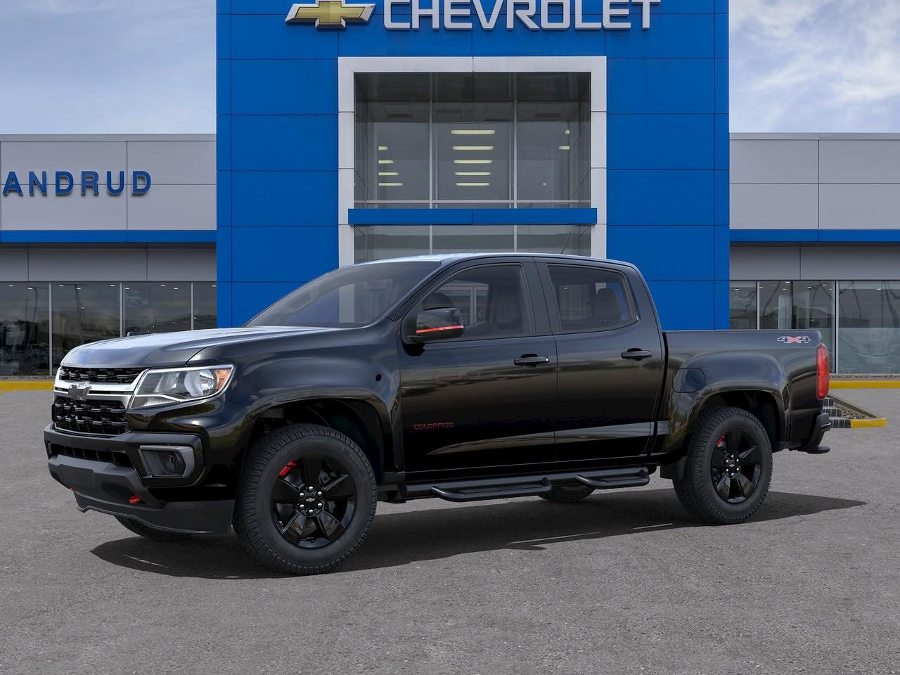 2021 Chevrolet Colorado Crew Cab 4x4, Pickup #M1530 - photo 3