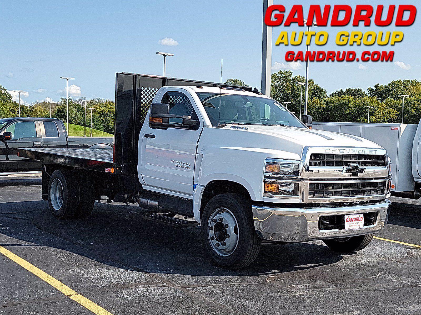 2021 Silverado 4500 Regular Cab DRW 4x2,  Monroe Truck Equipment Platform Body #M1601 - photo 1