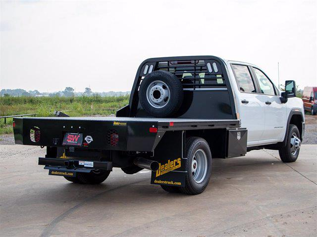 2021 GMC Sierra 3500 Crew Cab 4x4, Dealers Truck Equipment Platform Body #G222160 - photo 12