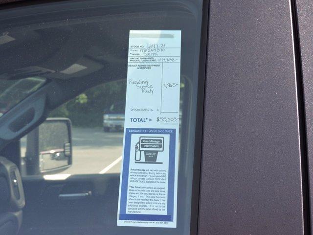 2021 Sierra 2500 Double Cab 4x4,  Reading Service Body #619721 - photo 40
