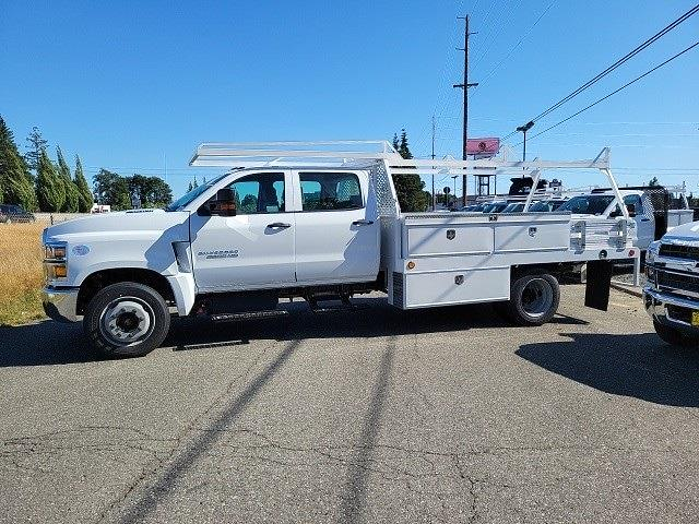 2021 Chevrolet Silverado 4500 Crew Cab DRW 4x2, Scelzi Contractor Body #V10509 - photo 1