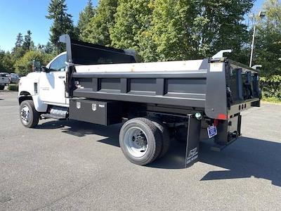 2021 Silverado 5500 Regular Cab DRW 4x4,  Rugby Dump Body #V10513 - photo 2