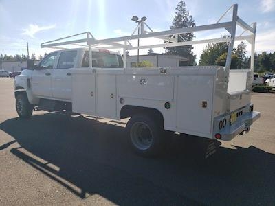 2021 Silverado 5500 Crew Cab DRW 4x4,  Scelzi Service Body #V10591 - photo 2